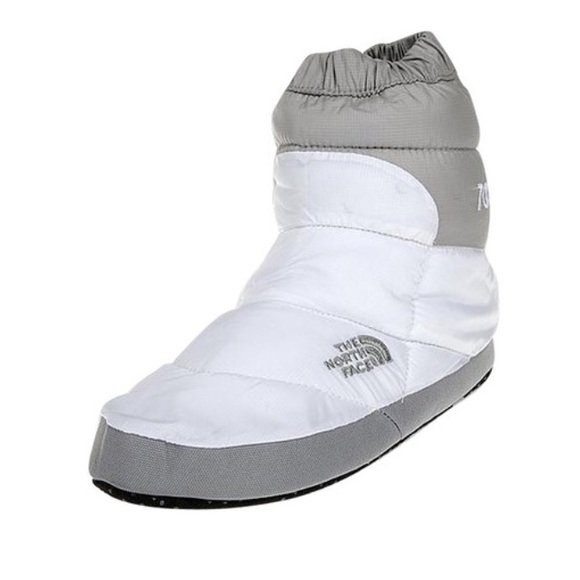 f00116fd5 BRAND NEW || White / Grey Nse Tent Booties